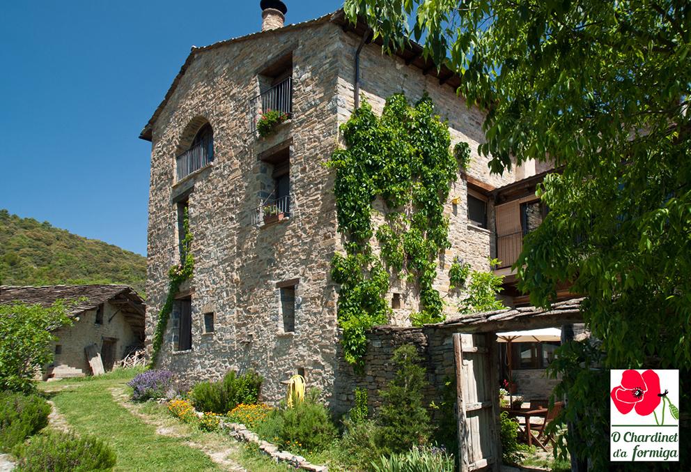 """""""O Chardinet d'a Formiga"""", casa rural con encanto y ecológica situada a 15km de Ainsa, ha resultado finalista en el apartado de Empresas"""
